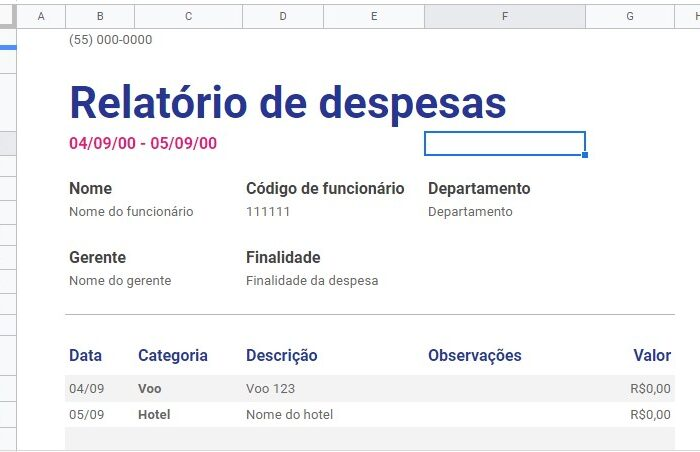 relatorio-de-despesa-google-sheets