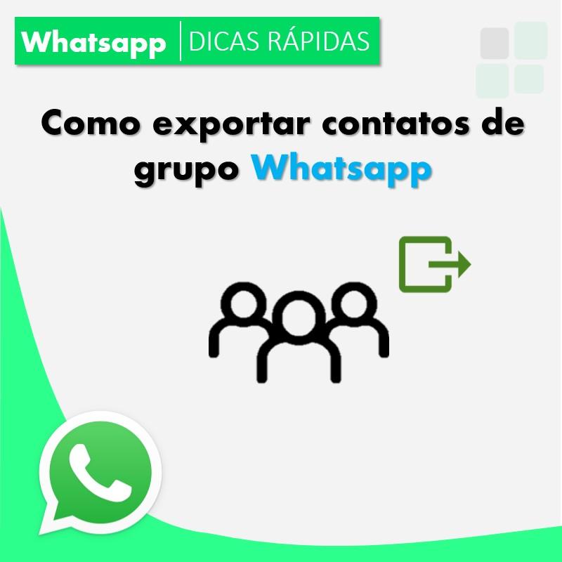 como-exportar-contatos-de-grupo-rapidamente