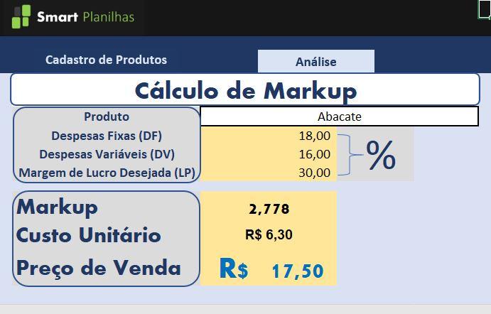 Planilha-Calculo-de-Markup-em-Excel