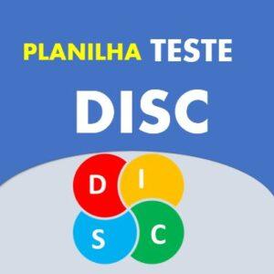 teste DISC em Excel