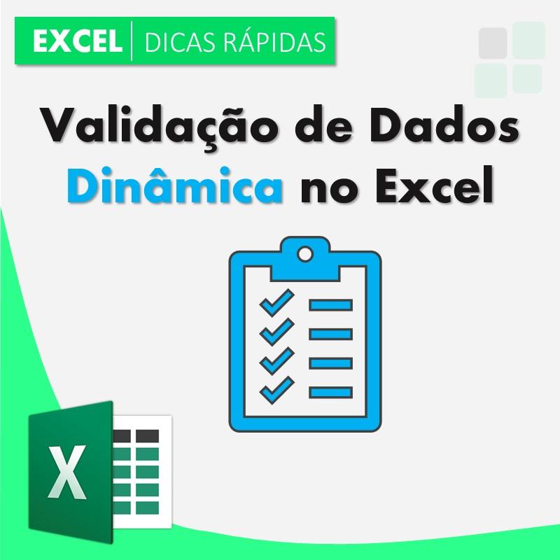 validação-dados-dinâmica-Excel